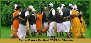 Tarpa Dance Festival 2013 in Silvassa Dadra and Nagar Haveli