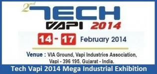 Tech Vapi 2014 Mega Industrial Exhibition of South Gujarat & Daman Silvassa