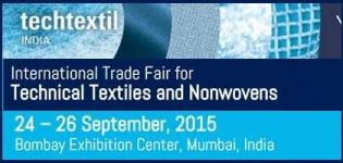 Techtextil India 2015 - International Trade Fair for Technical Textiles and Nonwovens at Mumbai