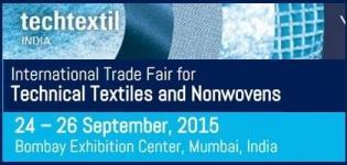 Techtextil India 2015 - International Trade Fair for Technical Textiles and Nonwovens at Mumbai