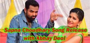 Tere Thumke Sapna Choudhary New Song Release with Abhay Deol and Sapna Chaudhary
