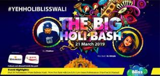 The Big Holi Bash 2019 at Bliss Aqua World and Resort in Mehsana