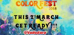 The Color Fest 2018 in Vadodara - Holi Celebration at Mistywoods Baroda