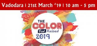 The Color Fest 2019 in Vadodara - Holi Festival Venue Date and Time Details