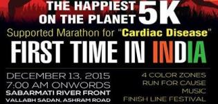 The Color Run 2015 in Ahmedabad at Sabarmati River Front - India Marathon Date Information