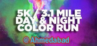 The Color Run 2016 in Ahmedabad at Railway Station - India 5K Night Marathon Date Information