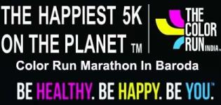 The Color Run 5k Marathon in Baroda Gujarat on 22 May 2016 - Venue Details
