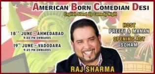 The Comedy Factory ABCD - American Born Comedian Desi at Ahmedabad  Vadodara