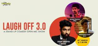 The Comedy Factory LAUGH OFF 3.0 in Vadodara at Caffein Cafe & Restro