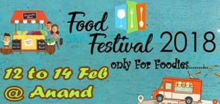 The Food Festival Event in Anand on 12 to 14 February 2018 - Venue Details
