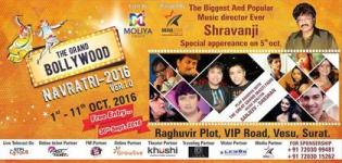 The Grand Bollywood Navratri 2016 in Surat Presented by Moliya Group