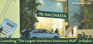The Largest Nachiketa Stationery Mall/Showroom in Rajkot launching on 29th March 2015