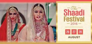 The Shaadi Festival 2016 in Ahmedabad at YMCA Banquets - 13th Edition Wedding Exhibition