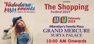 The Shopping Festival 2019 in Vadodara Date Venue and Time Details