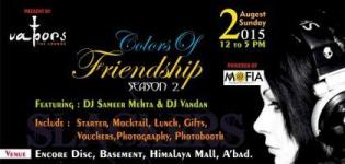 The Slackers Group Present Colors of Friendship DJ Party in Ahmedabad on 2nd August 2015