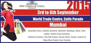 The Times of India Present Fashion Lifestyle Exhibition 2015 in Mumbai at World Trade Centre