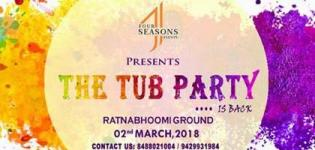 The Tub Party 2018 in Surat - Holi Celebration Events at Ratnabhoomi Ground