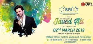 The Versatile Javed Ali Live in Concert 2019 in Ankleshwar at Omkar Exotica