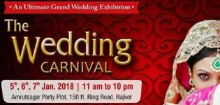 The Wedding Carnival January 2018 - An Ultimate Grand Wedding Exhibition