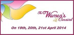 The Women's Carnival 2014 - Wedding and Lifestyle Exhibition in Rajkot on 19-20-21 April 2014