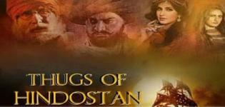 Thugs of Hindostan Hindi Movie 2018 - Release Date and Star Cast Crew Details