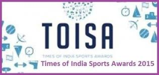Upcoming Event TOISA - Times of India Sports Awards 2015