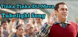 Tinka Tinka Dil Mera - Latest Salman Khan Tubelight Video Song
