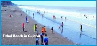 Tithal Beach in Surat Gujarat India