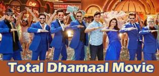 Total Dhamaal Hindi Movie 2019 - Release Date and Star Cast Crew Details