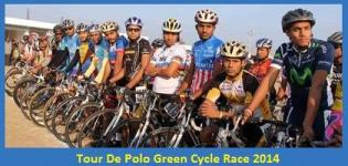 Tour De Polo Green Cycle Race 2014 in SabarKantha Gujarat