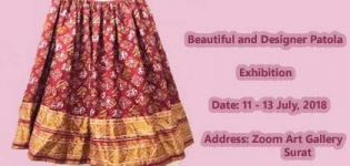 Traditional Designer Patola Saree Exhibition arrange for all Ladies in Surat