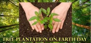 Tree Plantation Program, Annual Event on This Earth day at Rajkot in 2018