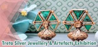 Treta Silver Jewellery and Artefacts Exhibition Arrange at J J Art Gallery in Surat