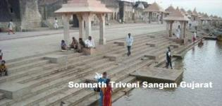 Triveni Sangam in Somnath Gujarat