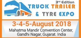 Truck Trailer & Tyre Expo 2018 in Gandhinagar at Mahatma Mandir Convention Centre