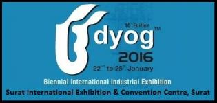 Udyog 2016 Surat - Biennial International Industrial Exhibition on 22nd to 25th January