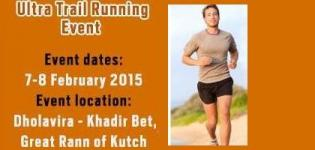 Ultra Trail Running Event February 2015 at Kutch Gujarat
