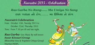 Umiya Mataji Mandir Navratri 2015 Celebration at Macon USA from 13 to 22 October