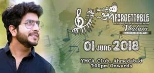 Unforgettable - A Night to Remember with Vhalam by Jigardan Gadhavi in Ahmedabad
