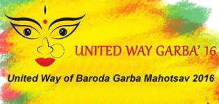 United Way of Baroda Garba Mahotsav 2016 - Dandiya Raas Event in Vadodara