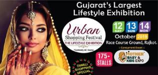 Urban Shopping Festival 2019 in Rajkot - The Lifestyle Exhibition at Race Course Ground