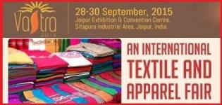 VASTRA - International Textile and Apparel Fair 2015 in Jaipur Rajasthan India
