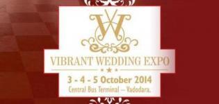 VIBRANT WEDDING EXPO in Vadodara on October 2014 at Central Bus Terminal Baroda
