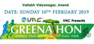 VNC's Greenathon 2019 Green Run and Burn Fat not Oil Cycling Marathon