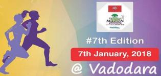 Vadodara International Marathon 2018 in Vadodara Gujarat on 7 January - Date - Route - Venue