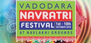 Vadodara Navratri Festival 2016 at Navlakhi Ground from 1st to 10th October