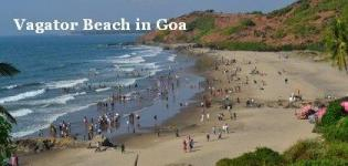 Vagator Beach in North Goa India - Information - Attraction - Details - Photos