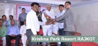 Vajubhai Vala at Krishna Park Resort Rajkot for Event of Prayas Parents Association India