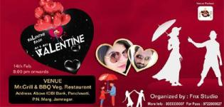 Valentine Bash 2019 in Jamnagar - Mr and Miss Valentine Party Celebration