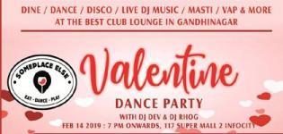 Valentine Day Special Dance Party Gandhinagar Venue and Other Details